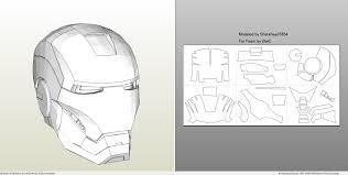foamcraft pdo file template for iron man mark 4 u0026 6 full armor