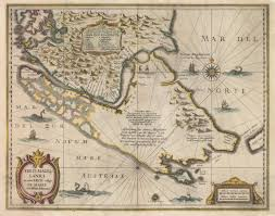 1600 Map Of America by Magellan Strait Historic Maps