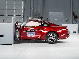2016 ford mustang driver side small overlap iihs crash test youtube