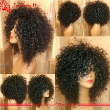 why is my hair curly in front and straight in back best 25 short curly wigs ideas on pinterest curly wigs african