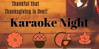 thanksgiving is karaoke bibim silver 25
