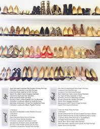 a peek inside meghan markle u0027s shoe closet