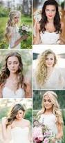 how to put bridal hairstyle best 25 loose wedding hairstyles ideas on pinterest loose curly