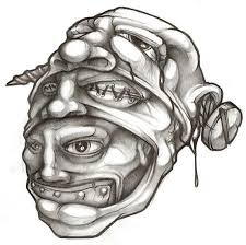100 hear no evil see no evil speak no evil tattoos alien