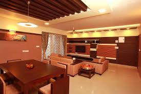attractive design modern living room with units for wall and