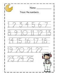 worksheet tracing numbers worksheets 1 20 wosenly free worksheet