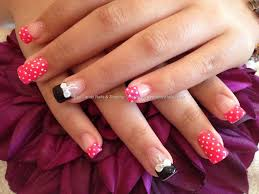 acrylic nails designs with bows how you can do it at home