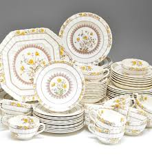 set of spode buttercup china ebth