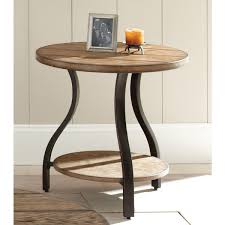 Wood And Metal End Table Dante Wood And Metal End Table By Greyson Living Free Shipping