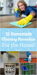 Cleaning The House by 33 Homemade Remedies For Cleaning The House Tip Junkie