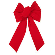 big christmas bows big velvet bows large bright velvet bow
