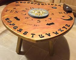 Ouija Coffee Table by Large Ouija Board Etsy