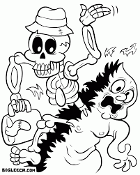 halloween coloring pages for older kids coloring home