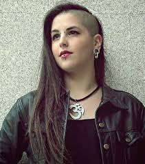 haircuts for woemen shaved one side long the other collections of long and shaved hairstyles cute hairstyles for girls