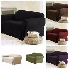 Charcoal Slipcover 4 Seater Sofa Furniture Slipcovers Ebay