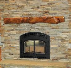 inspiring rustic fireplace mantel home design 1042