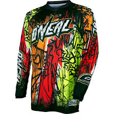 motocross gear ebay oneal element 2017 vandal motocross jersey o u0027neal off road racing