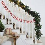 Banister Decorations Christmas Banister Decoration Princess Decor