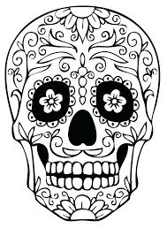 skulls coloring pages coloring pages skull sugar skulls coloring