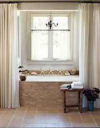 Hanging Curtains High Decor High Hung Regular Curtains Around The Tub Home Inspirations