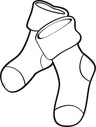 free printable christmas stockings coloring kids 3