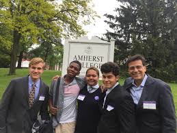 amherst college student ambassadors bring the question project to amherst college