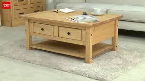 Coffee Tables Argos Buy Home San Diego 2 Drawers 1 Shelf Coffee Table Pine At Argos