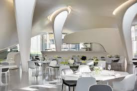 exquisite restaurant interior designs with square dining table