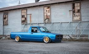 volkswagen rabbit truck lifted built to drive the dub dynasty 1981 vw caddy u2013 slam u0027d mag