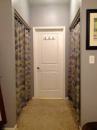 Ikea Panel Curtain Ideas by Delightful Closet Curtains Pictures Roselawnlutheran