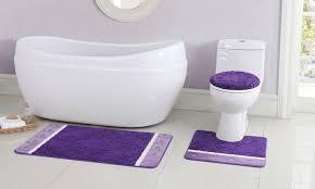 Bathroom Rug Sets Walmart Bathroom Rugs Set 3 Piece Roselawnlutheran