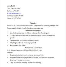 Resume For A Cashier Download Example Resume For Cashier Haadyaooverbayresort Com