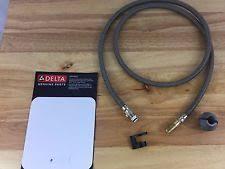 delta kitchen faucet replacement hose delta faucet hose ebay