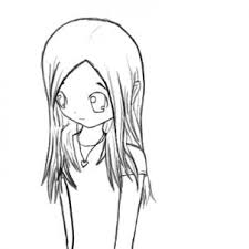 how to draw a shy anime step by step anime people anime