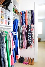 Cheap Organization Ideas Scarf Hanger Closet Organization Ideas The Chronicles Of Home