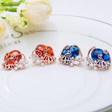 unique stud earrings aliexpress buy luoteemi fashion design unique stud earrings