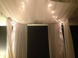 ikea inspired diy canopy bed with romantic lighting ideas ikea inspired diy canopy bed with romantic lighting ideas