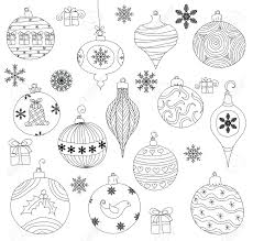 ornaments collection isolated royalty free