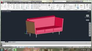 Home Design And Drafting By Brooke autocad 2013 3d modeling basics sofa part 1 brooke godfrey