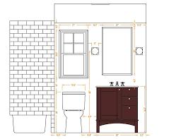 Small Bathroom Floor Plans 5 X 8 6x8 Bathroom Layout Home Design