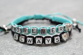 gift hers couples bracelets set always forever bracelets his and hers