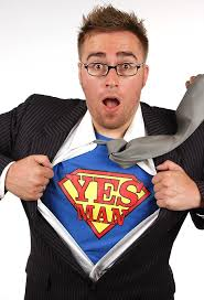 film yes man it s not that easy being a yes man tom sykes decided to say yes to