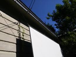 diy back yard movie theater album on imgur