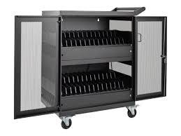 laptop charging station amazon com tripp lite 32 port ac charging cart storage station