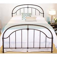 fashion bed b11386 cascade king ornamental panel bed in