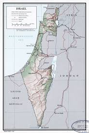Map Of Israel Large Detailed Political And Administrative Map Of Israel With