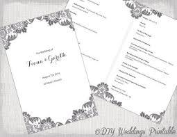 wedding mass program template wedding booklets templates zoro blaszczak co