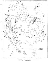 Klamath Falls Oregon Map by Bibliography Of Water Related Research In The Upper Klamath Basin