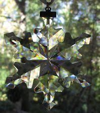 swarovski annual snowflake ebay