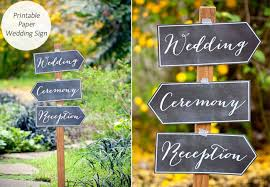 diy wedding signs 8 easy diy wedding signs that keep your guests in the